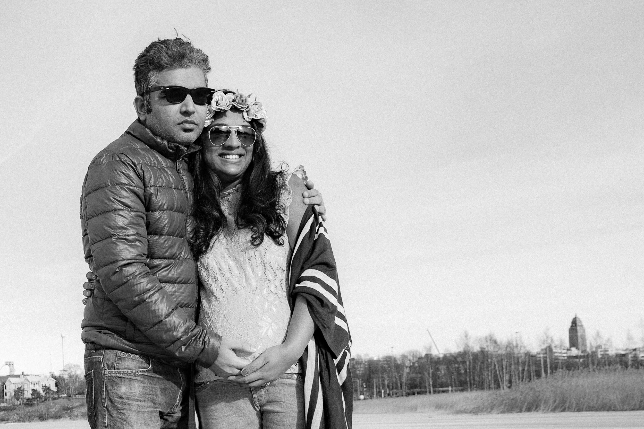 Shruti & Mayank - Pregnancy photos