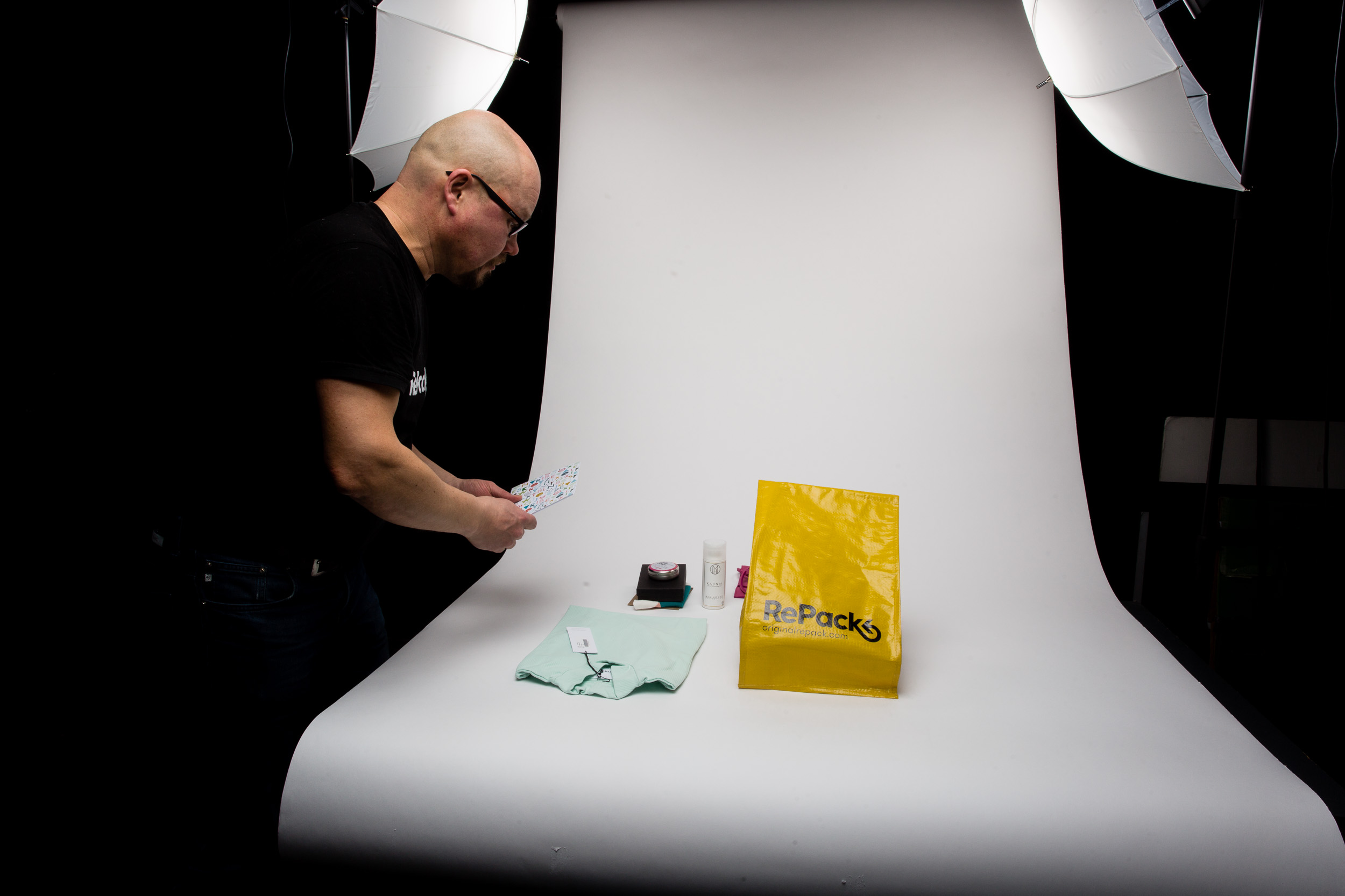 Juha Mäkelä from RePack doing his part creating the animation at my studio