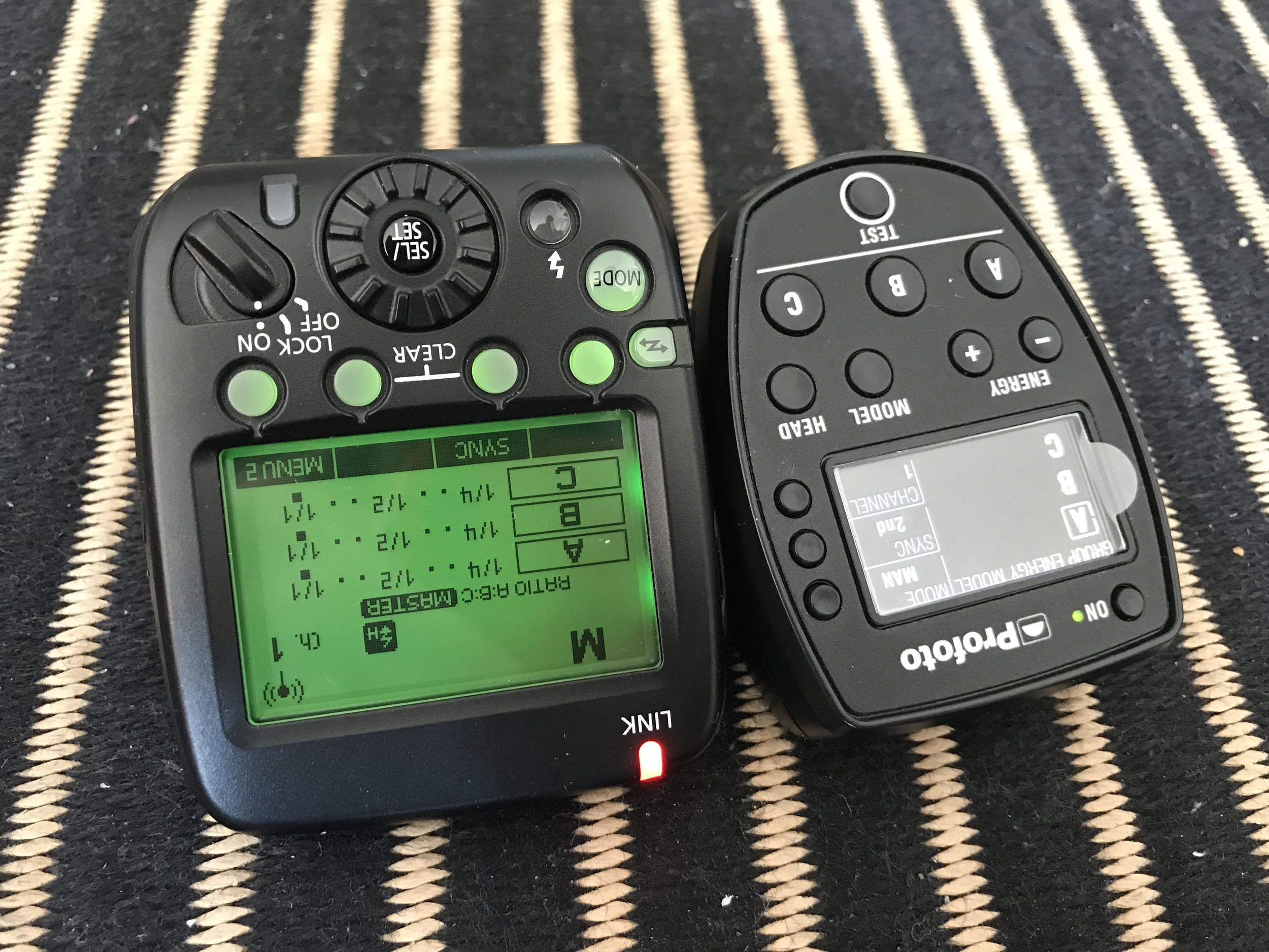 Canon and Profoto Flash Remote Controls