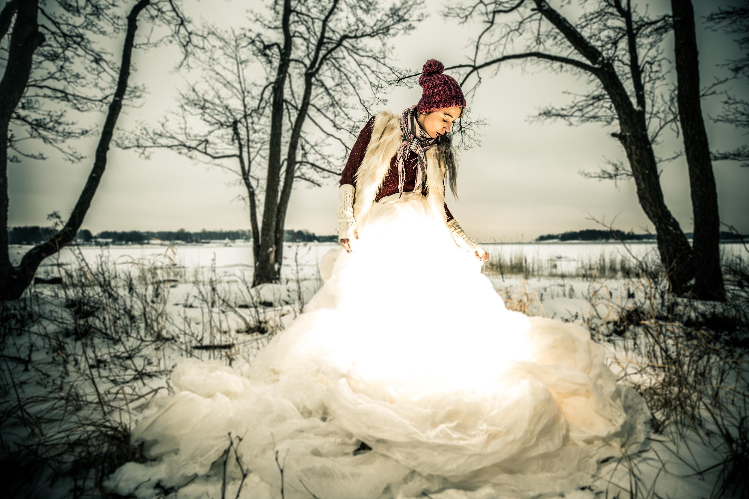 The Winter Fire Fairy (with Neko Devilish) © Alejandro Lorenzo