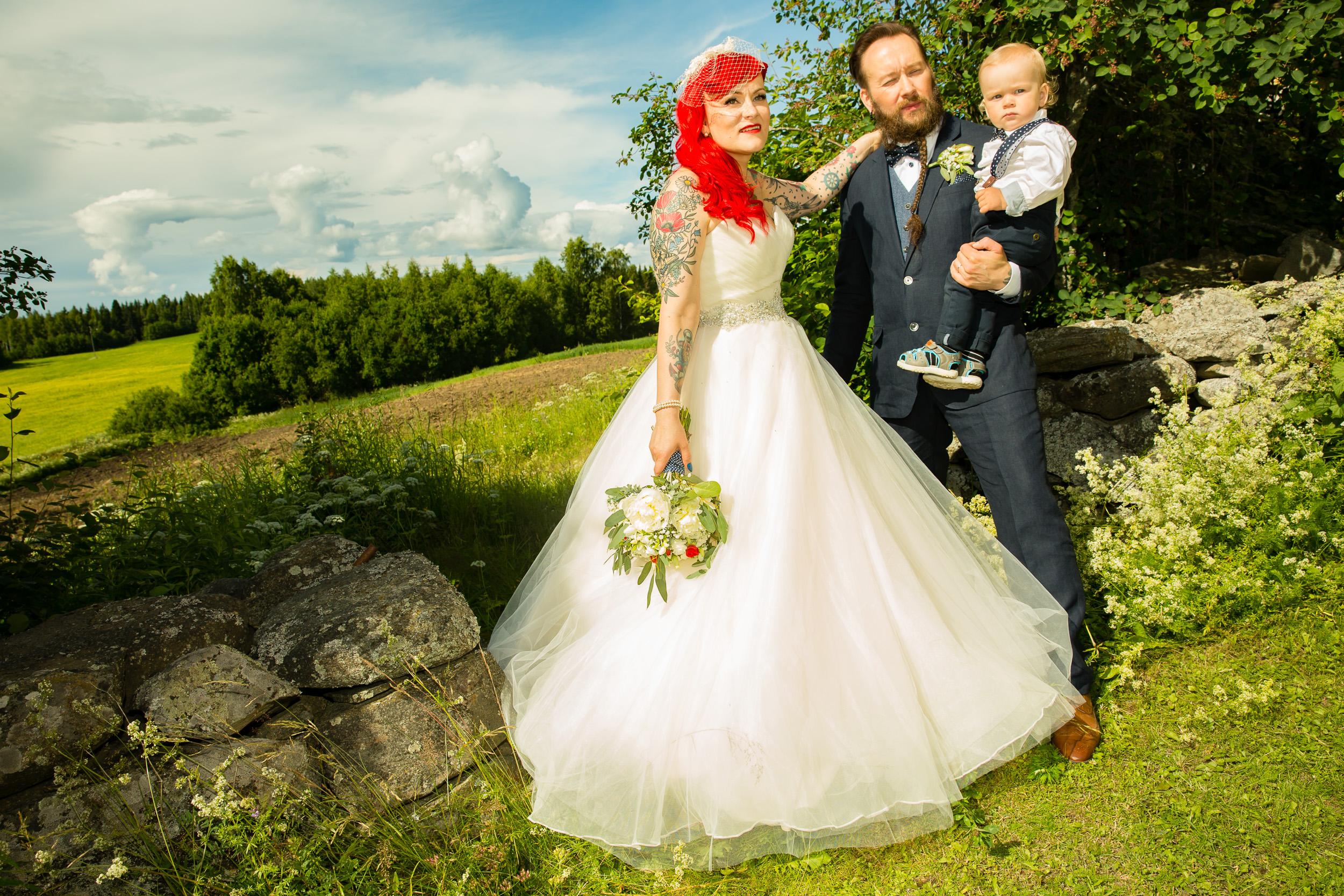 Pirjo <3 Mika - Wedding photo (hääkuvaus)