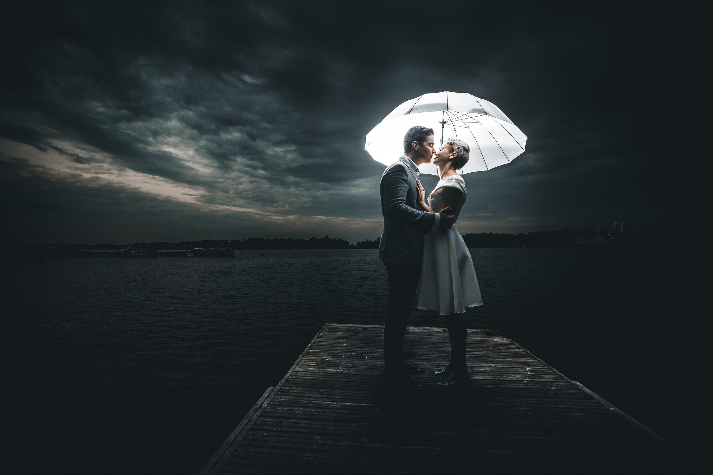This is the final version of Aino and Joonas wedding photo