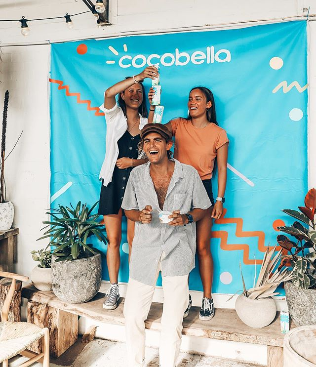 Hey friends :) thanks to my good pals down at @purecocobella I am giving away 1 MONTH worth of Coconut Water to one of you lucky amigos to say a big thanks for all of the support! To enter tag a friend that makes a better smoothie than me 🌞💦🍉 #cocobellamoment **must be in Australia to enter **