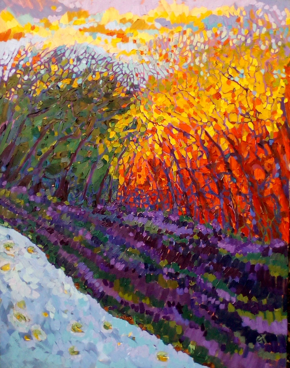SOLD - Catching the light