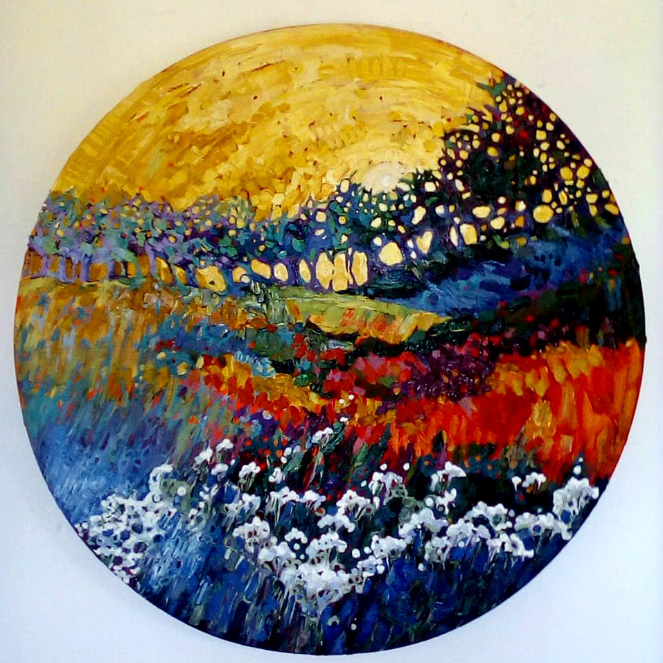 SOLD - Gaia's Song , 60cm.