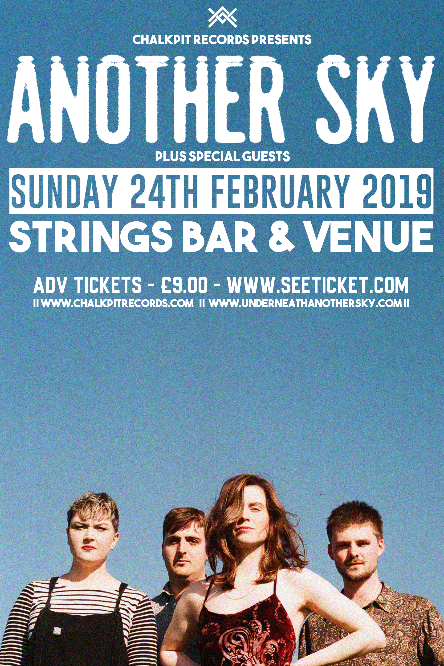 Another Sky live at Strings, Isle of Wight