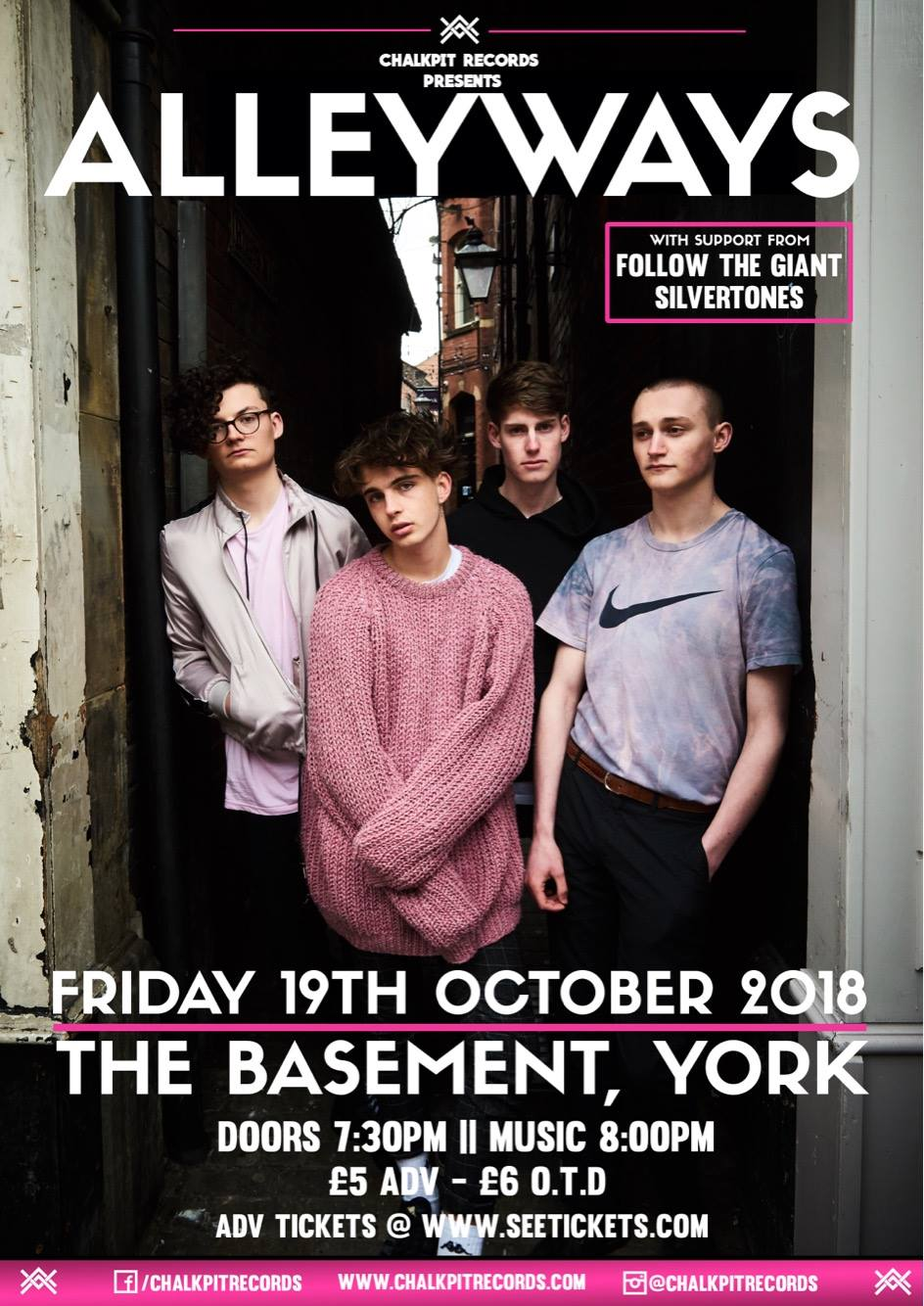 Alleyways Live at The Basement, York