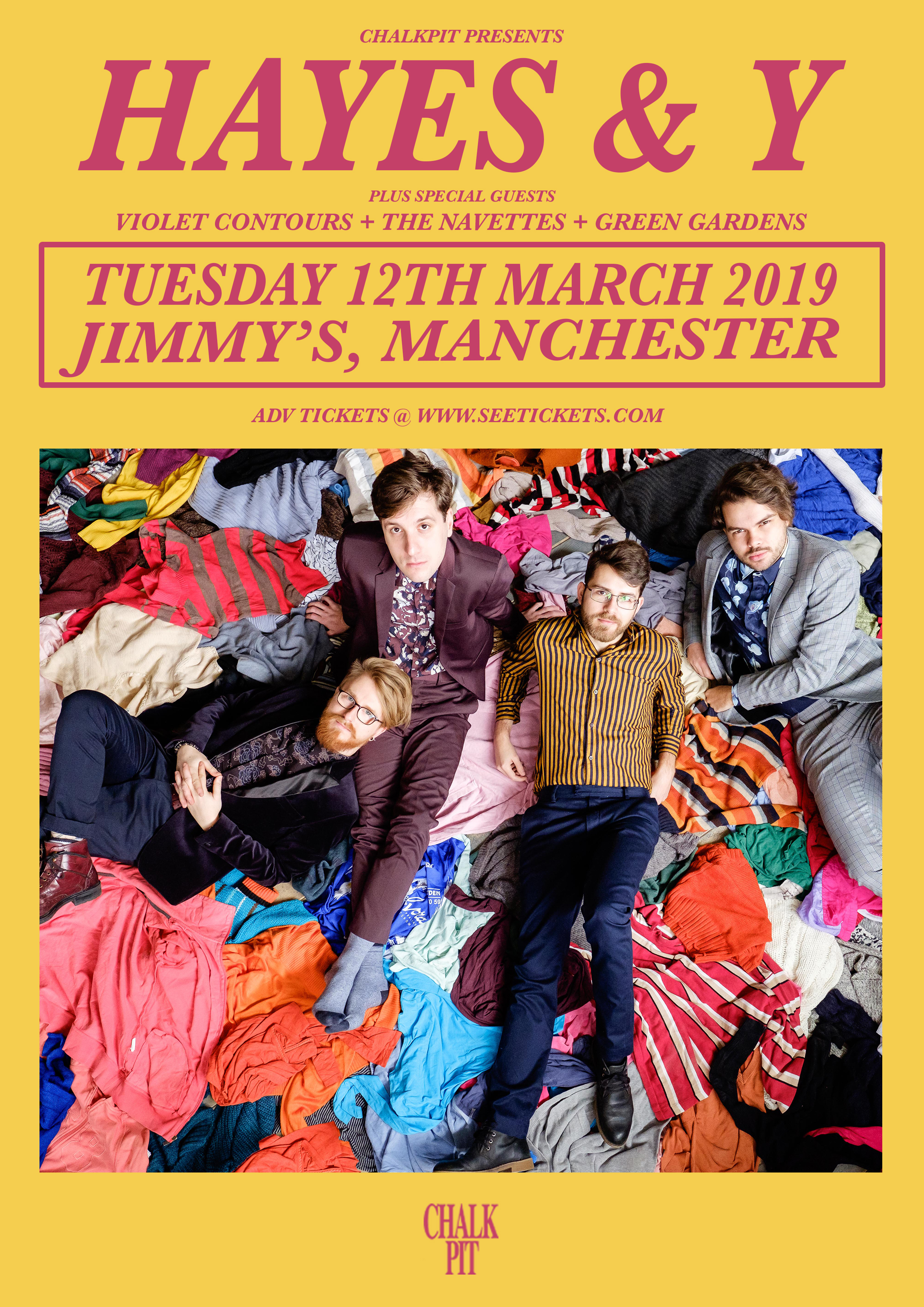 Hayes & Y Live at Jimmy's, Manchester
