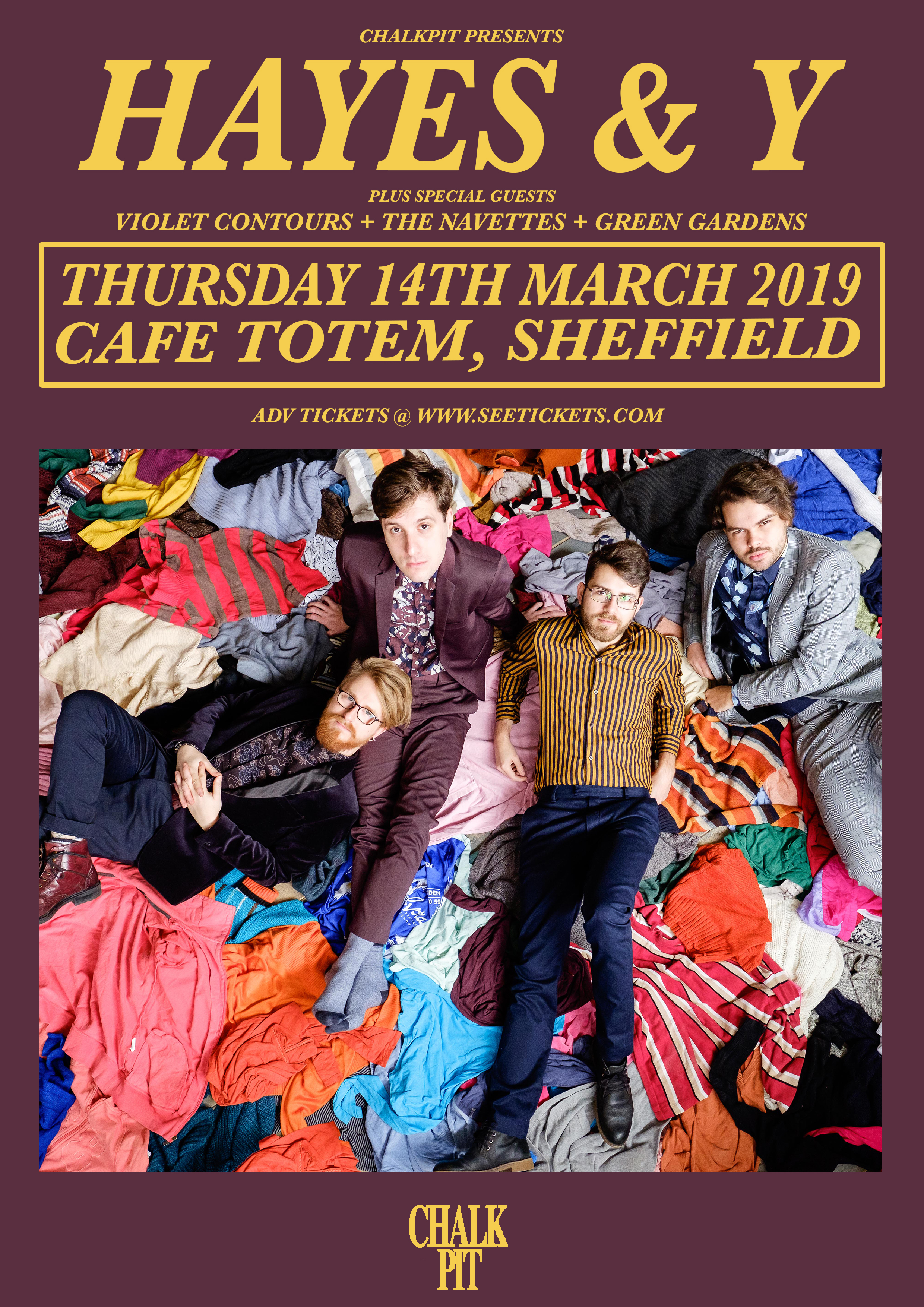 Hayes & Y, Live @ Cafe Totem, Sheffield