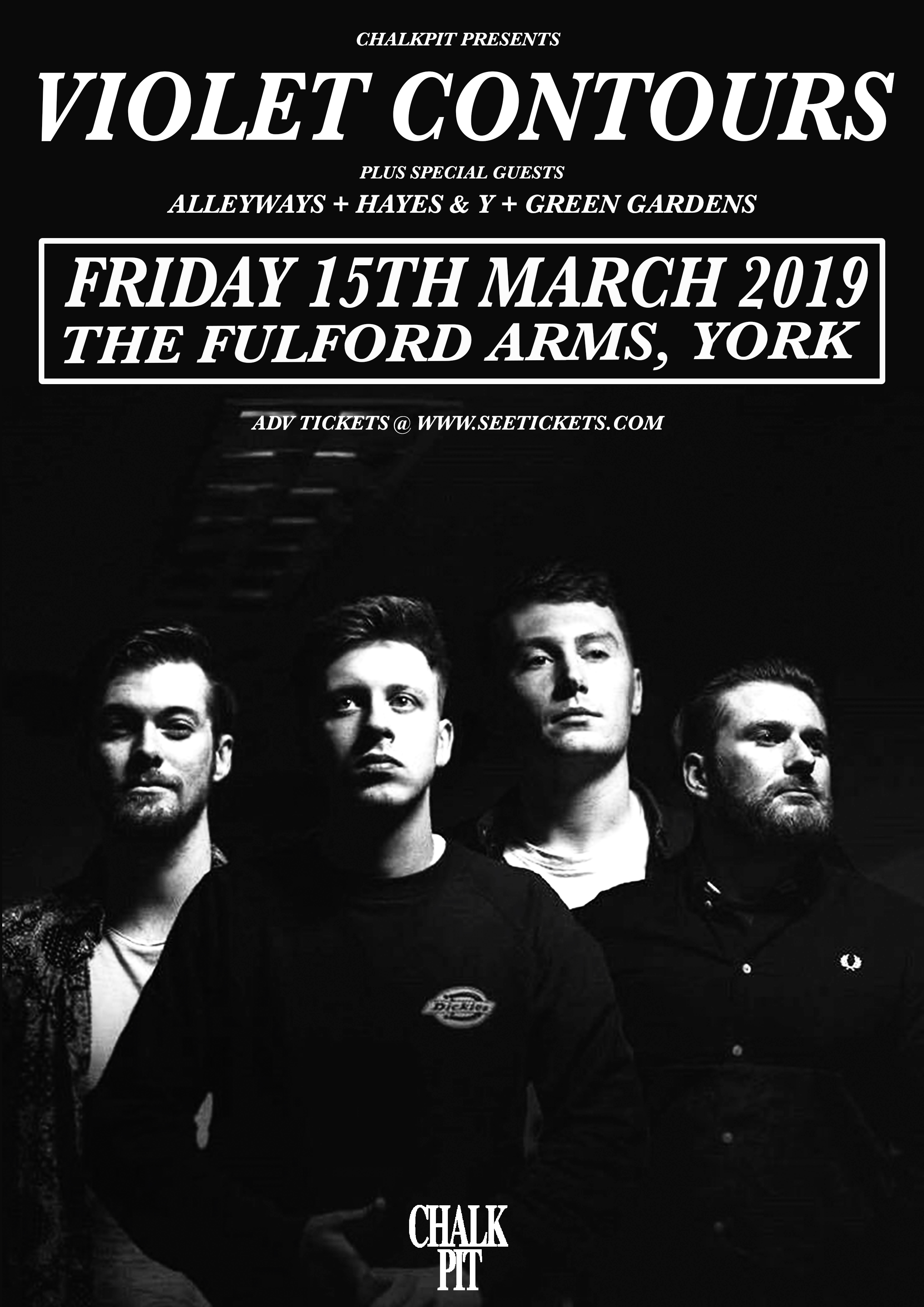 Violet Contours, Live at The Fulford Arms, York