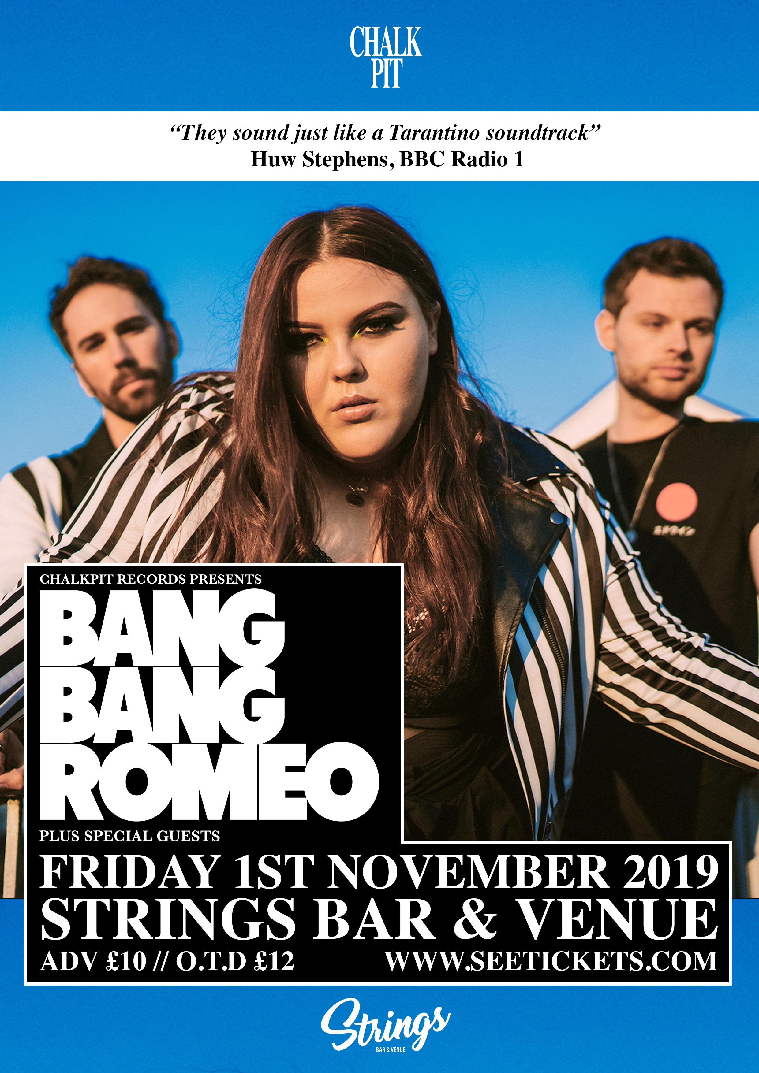 Bang Bang Romeo - Live @ Strings, IOW