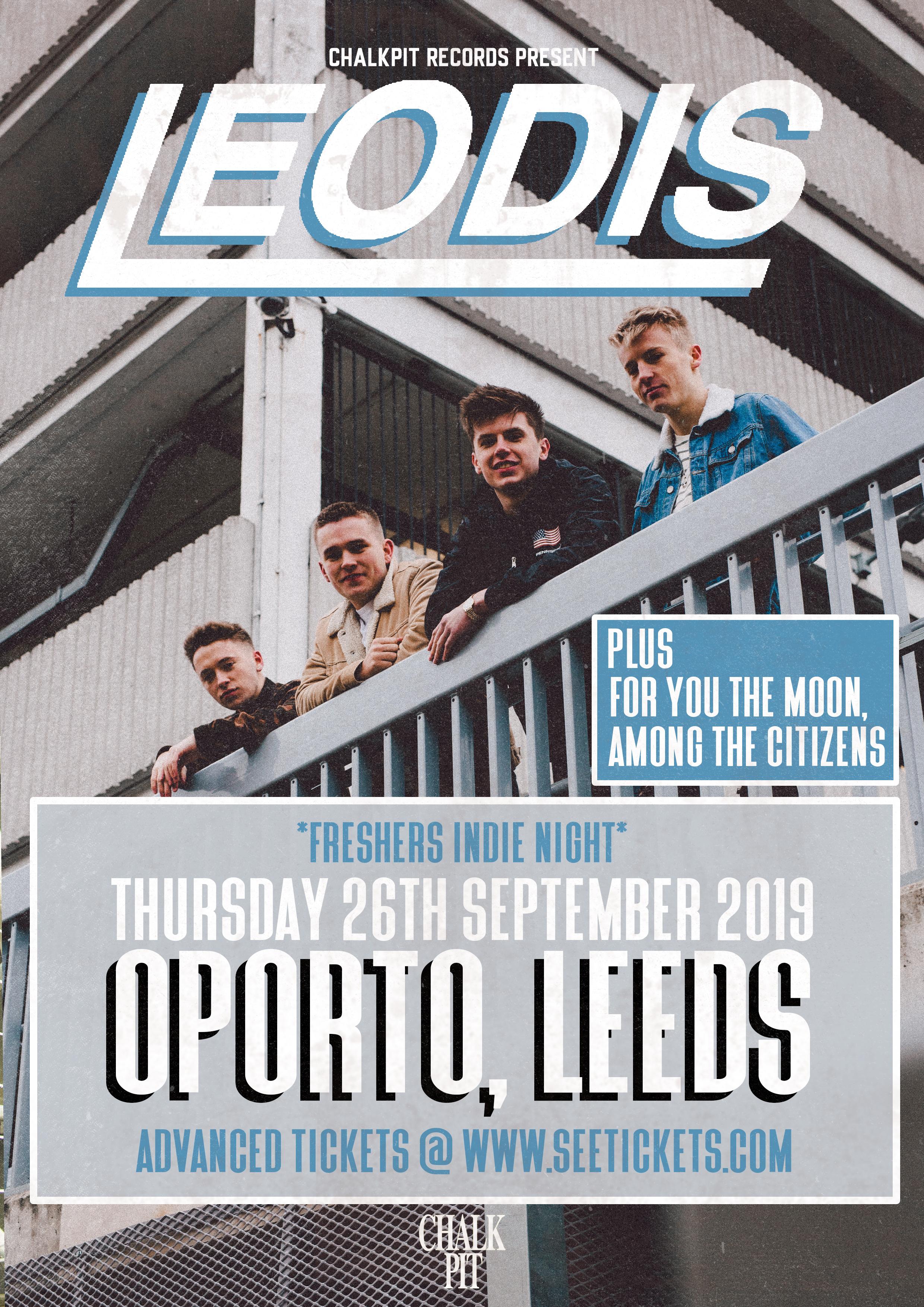 LEODIS - LIVE @ OPORTO, LEEDS