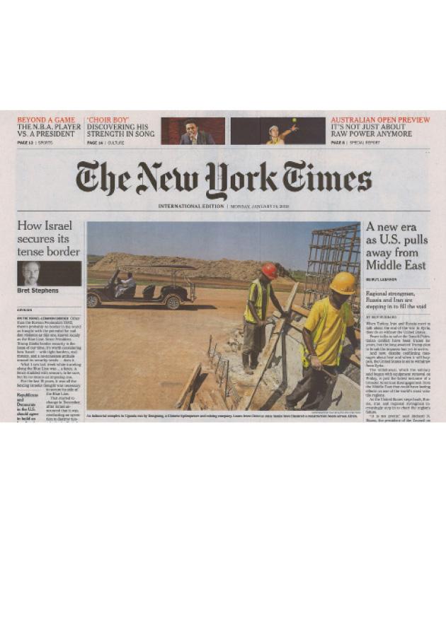 Des Montres et des hommes - NYT
