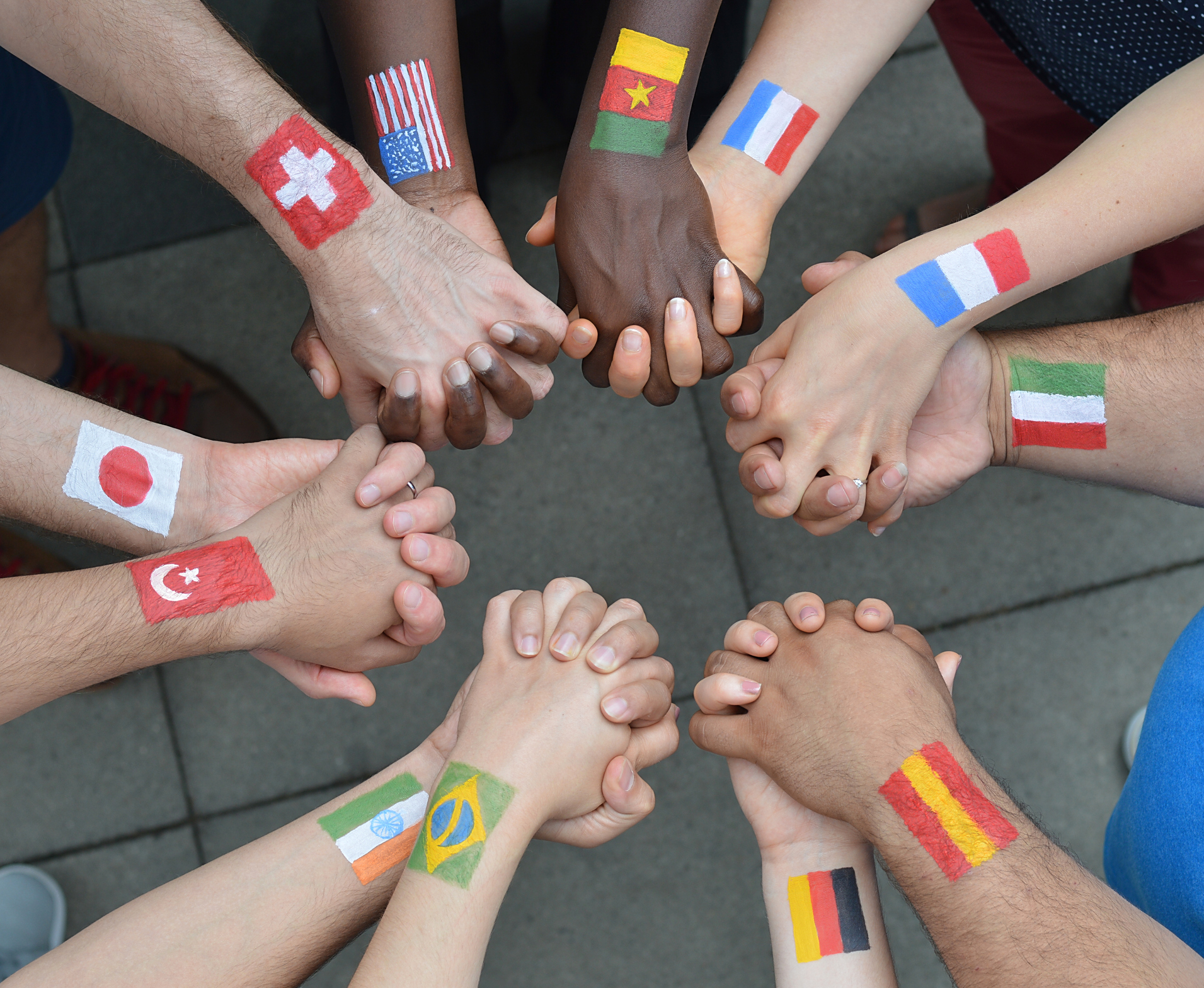 Team Building from All Around The World!