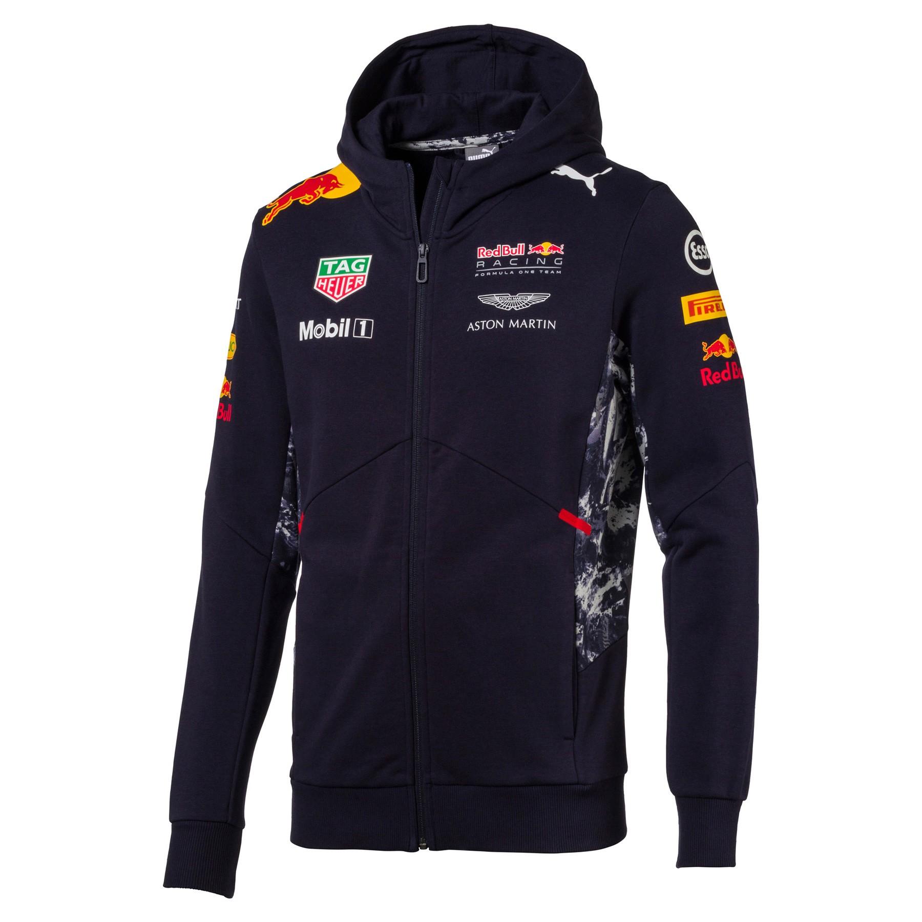 Red Bull Racing Team Hooded Sweat Jacket