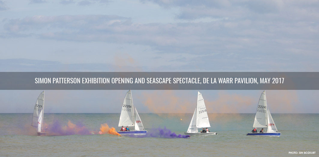 Simon Patterson Exhibition and Seascape spectacle at De La Warr Pavilion