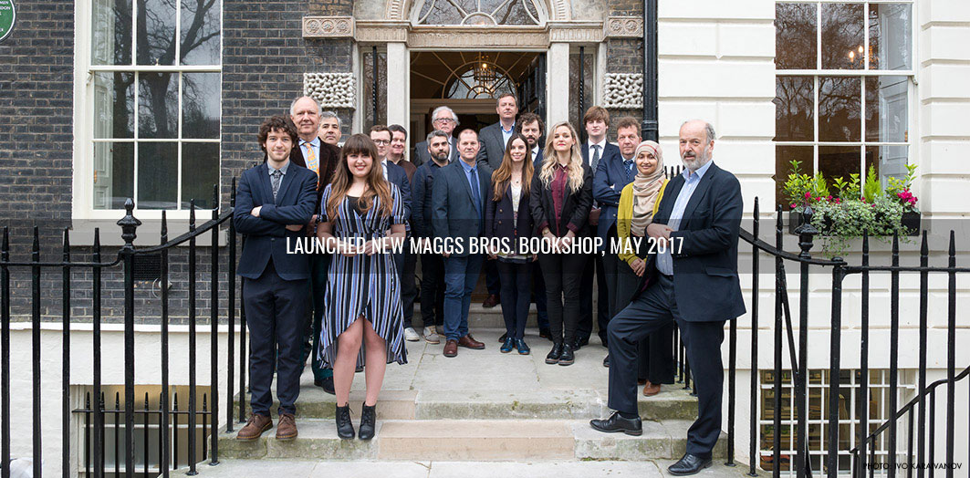 Launch of the new Maggs Bros Ltd Bookshop at Bedford Square