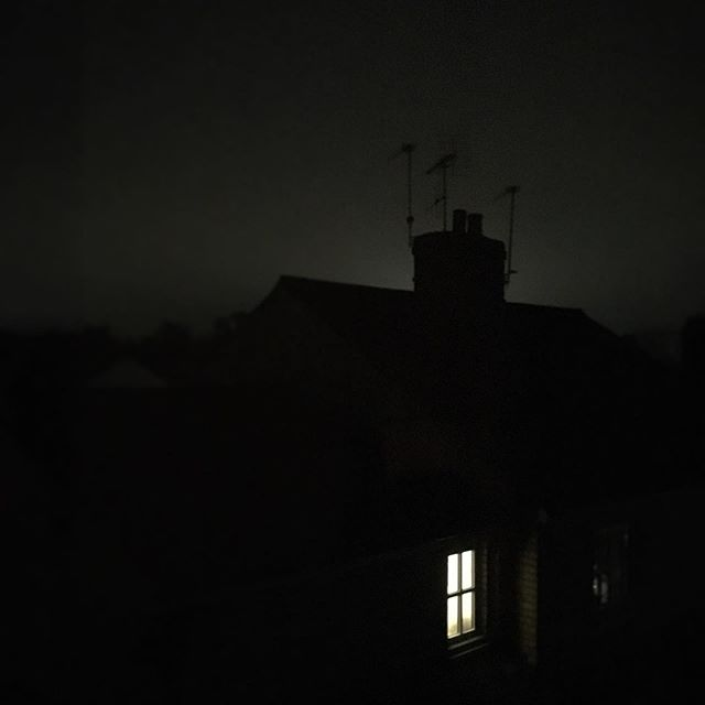 Someone left the light on... #niceview #silouette #moody #creepy #photography #cinematographer