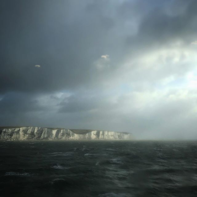 #whitecliffs #dover #ferry #travel #moody #roadtrip #france @erline_clarke