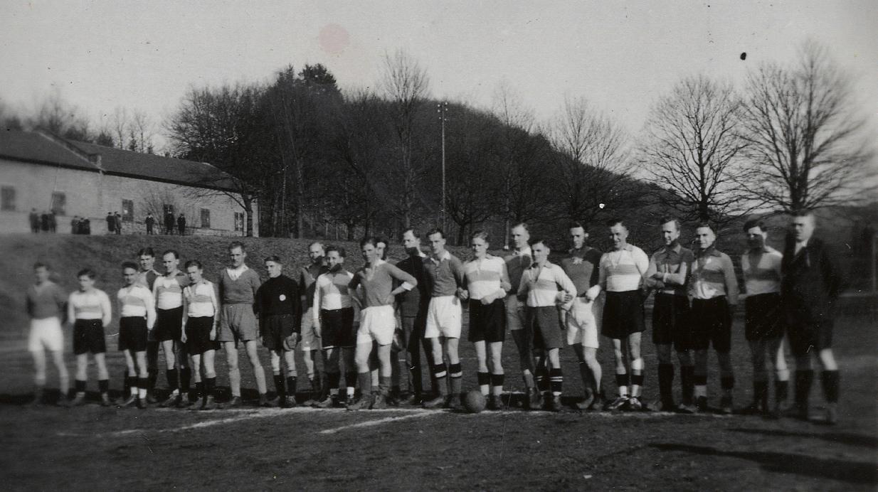 Soccer match in Merzig