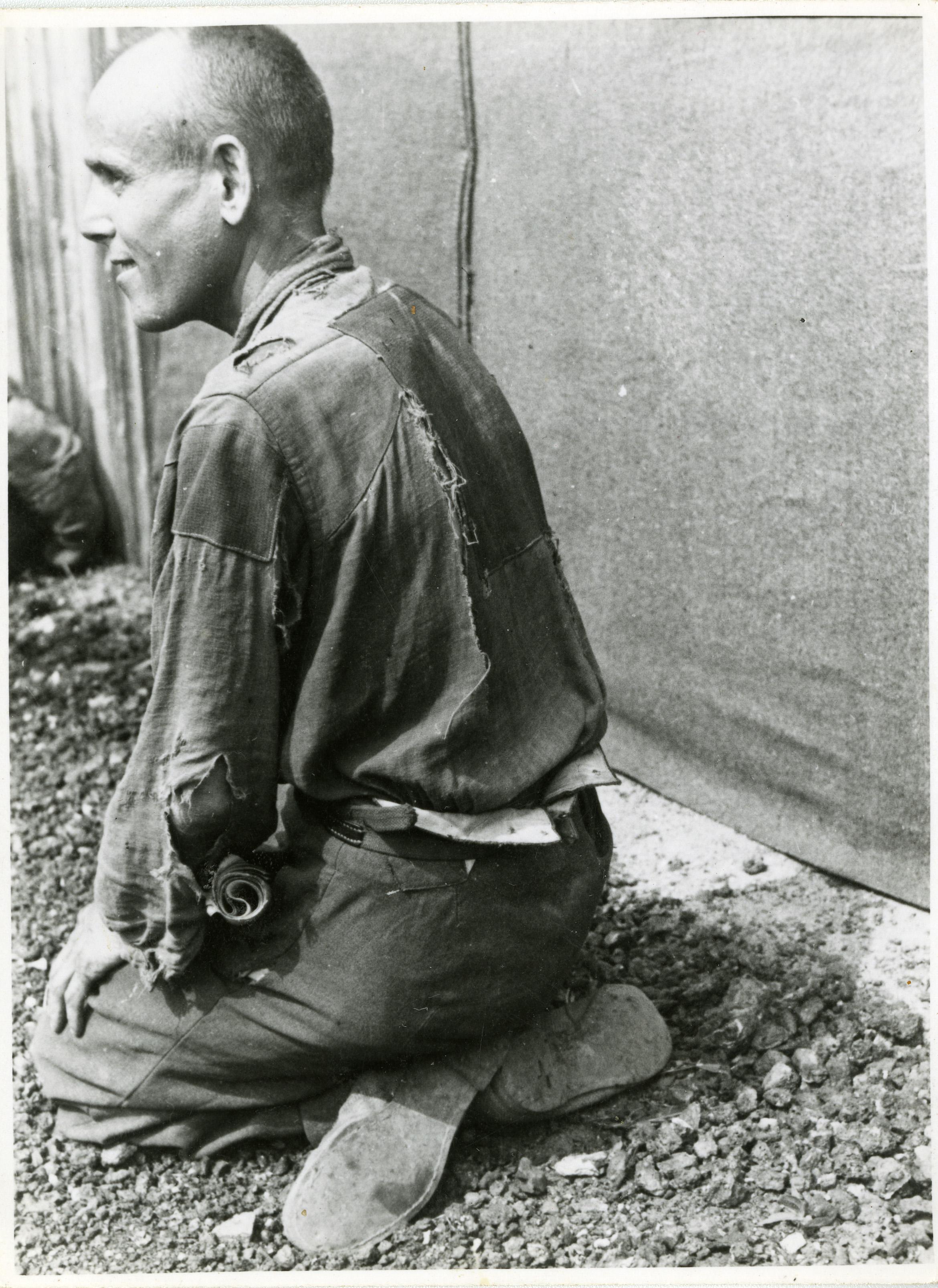 Tyska krigsfångar 1945