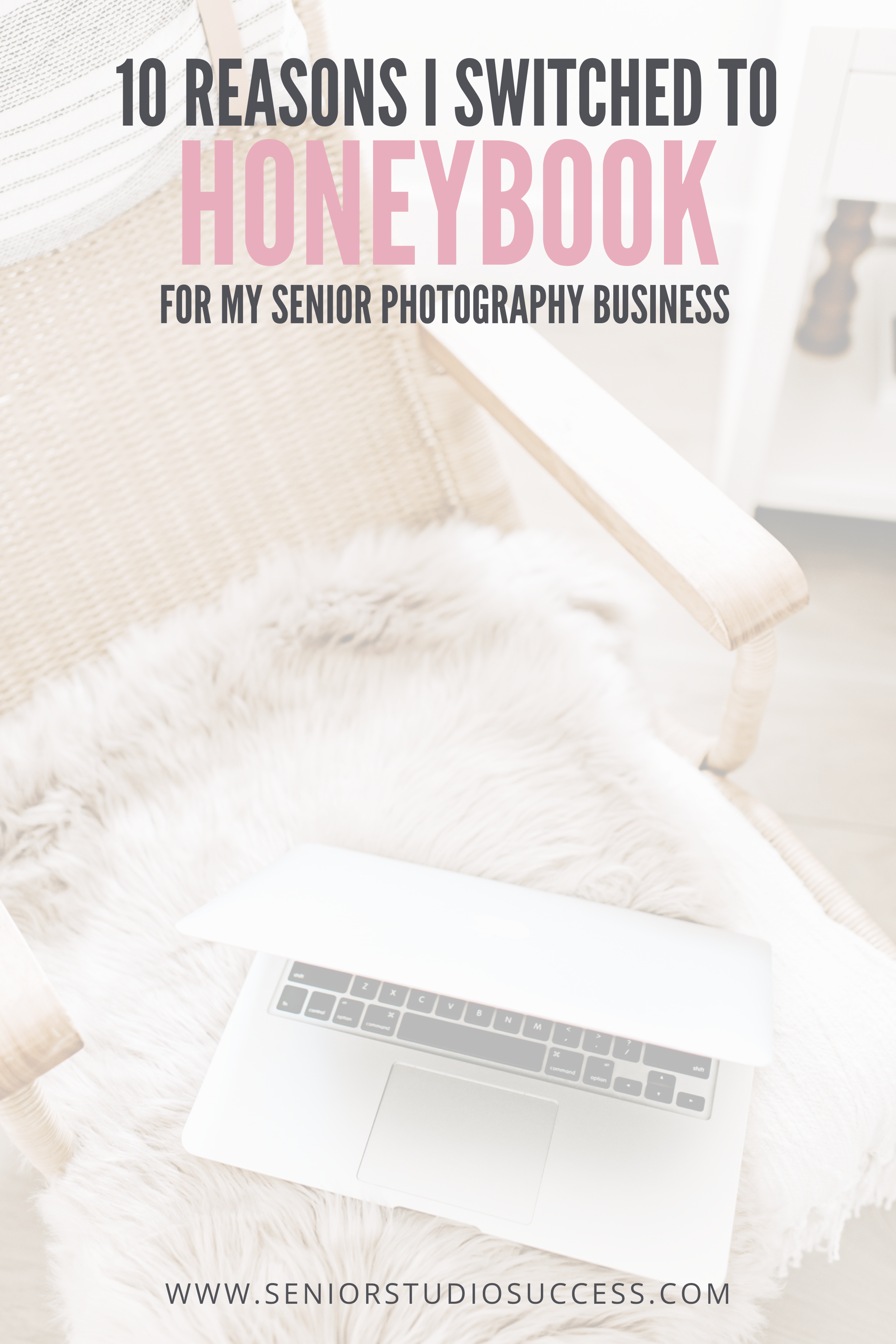 honeybook client management software for senior photographers