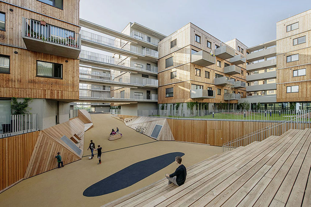 Wood Housing Seestadt Aspern  Berger Parkkinen architekten in collaboration with querkraft architekten