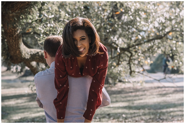 Audobon Park Engagement - New Orleans - Kallistia Photography 4