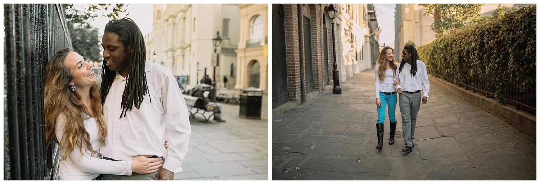 Jenn and TJ Engagement - French Quarter New Orleans - Kallistia Photography_0002.jpg