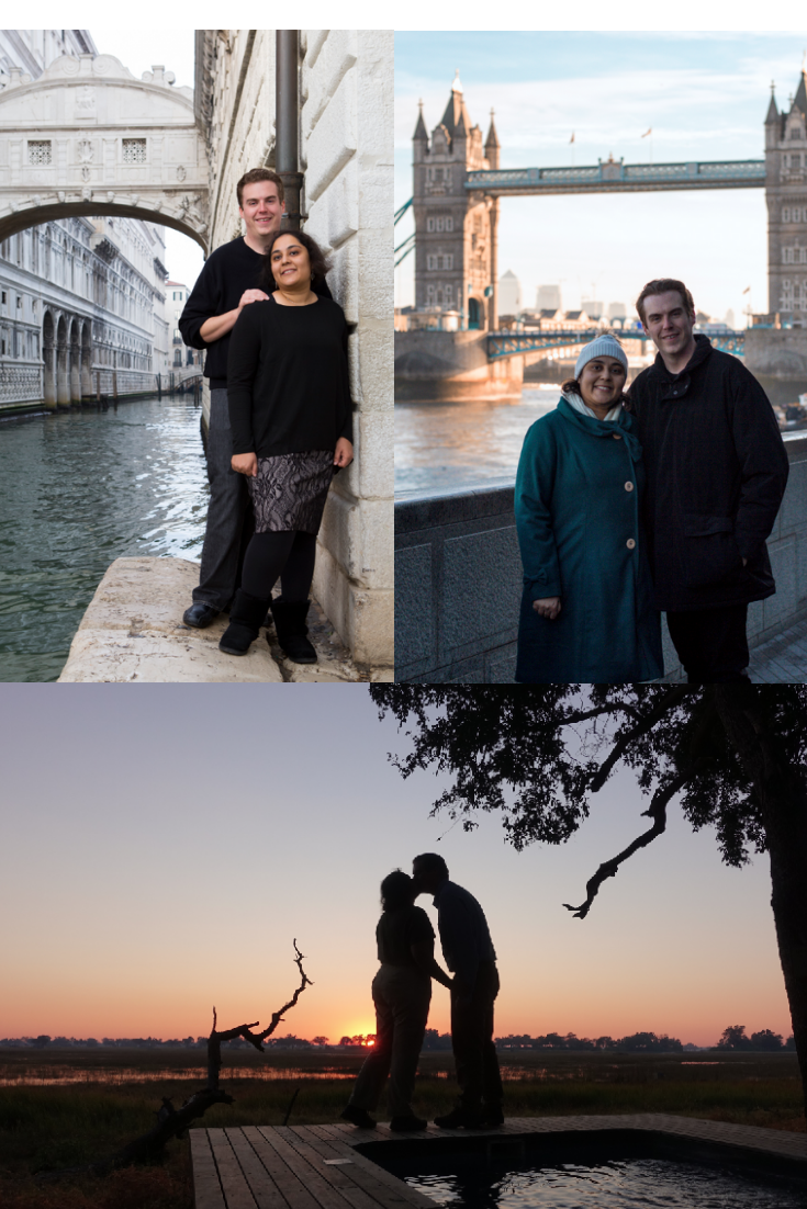 Not my images, these are a photos from thier world travels! Venice, London, Botswana.