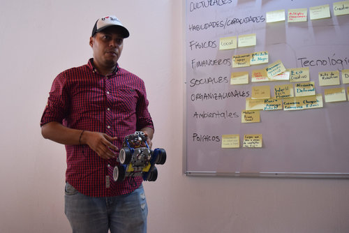 Tech innovation lab in Buenaventura, Colombia