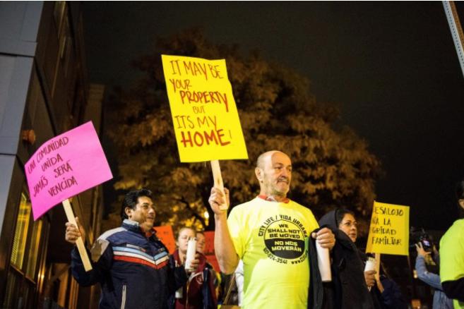 Anti-displacement event in Boston