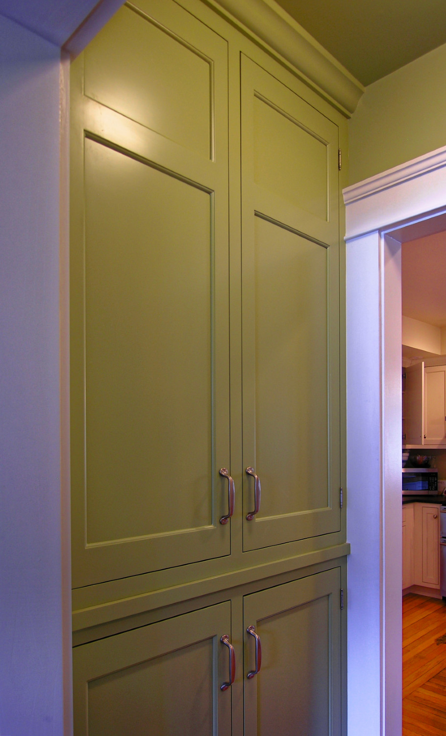 inset cabinet butlers pantry