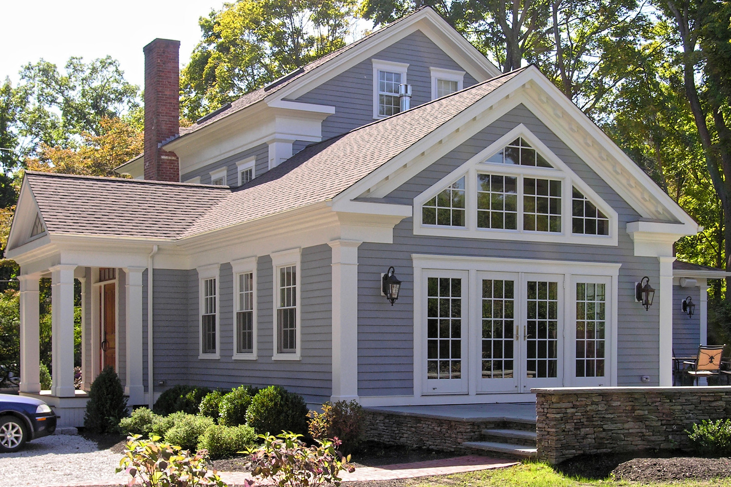 GREEK REVIVAL REMODEL AND ADDITION