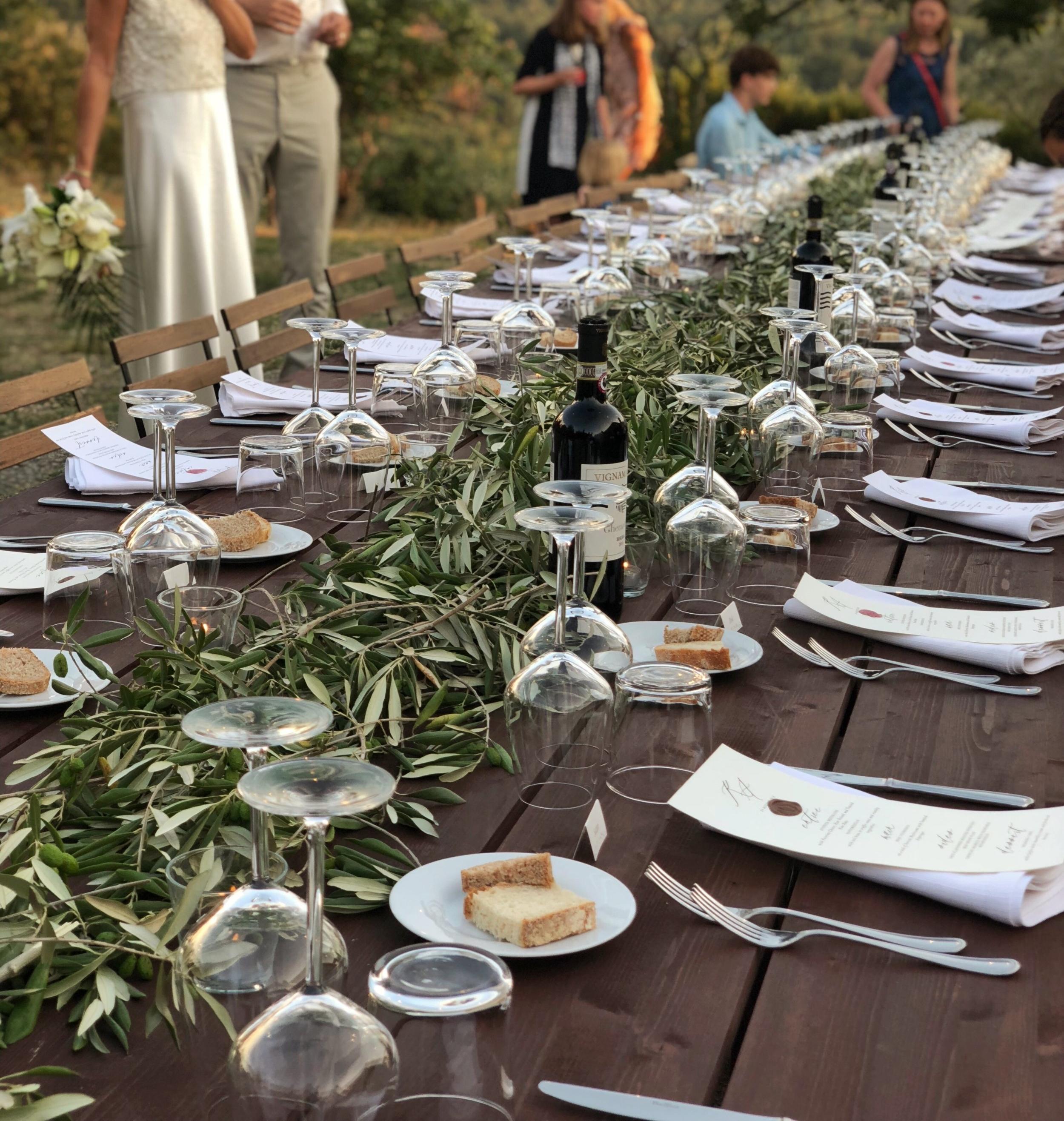 Tuscan Wedding Table