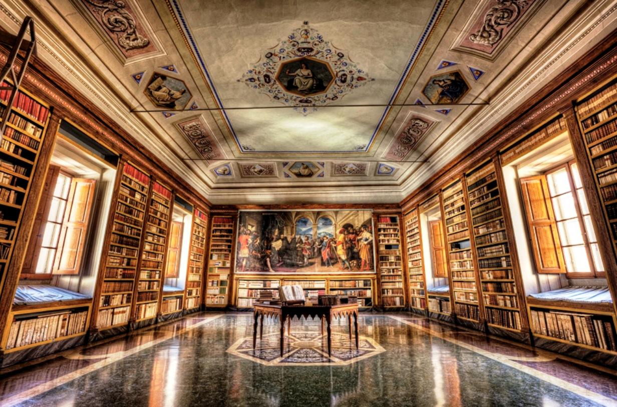 Vallombrosa Abbey Library
