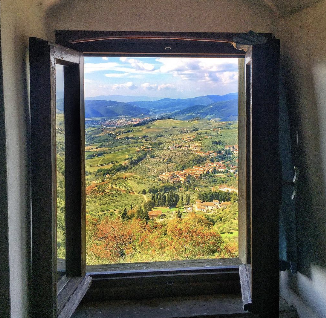 View from Castello 19 (Studio apartment sleeps up to 3 guests)