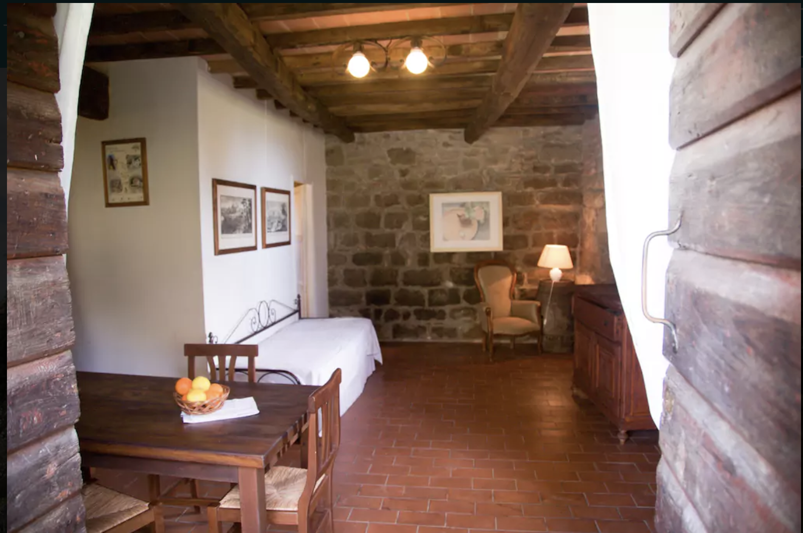 Fattoria 1 (1 bedroom on ground floor sleeps up to 4 guests)