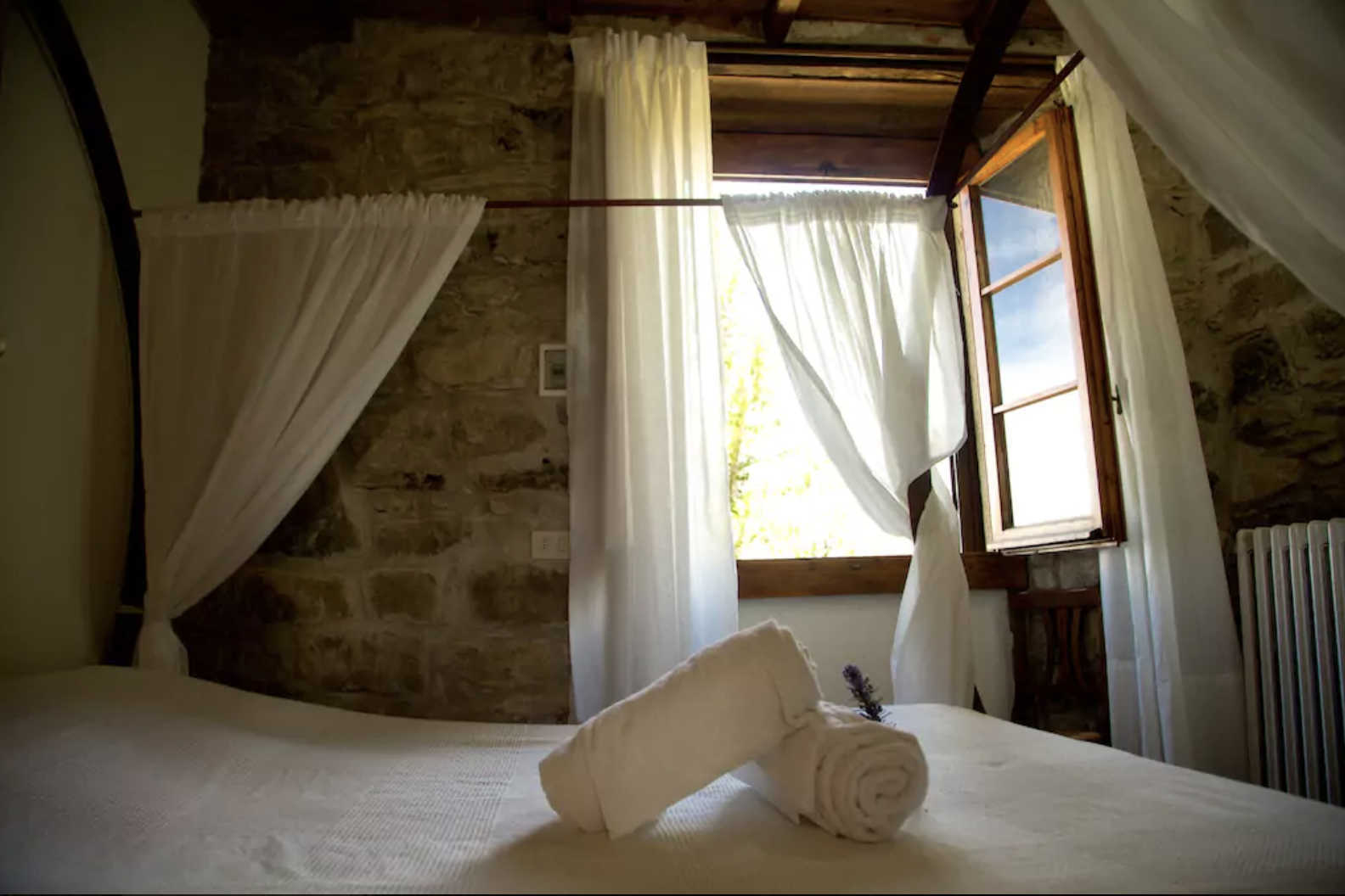 Fattoria 6 (2 bedroom, 2 bathroom apartment with small sleeping loft for up to 7 guests)