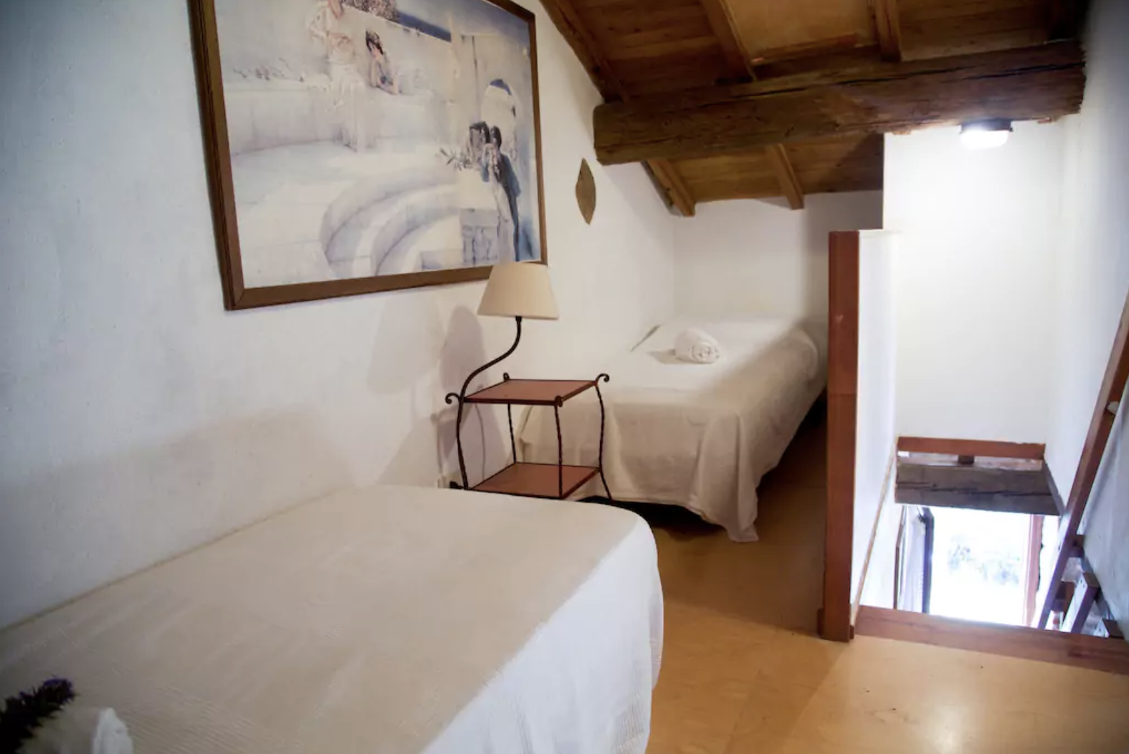 Fattoria 5 (2 bedroom apartment with sleeping loft for up to 7 guests)