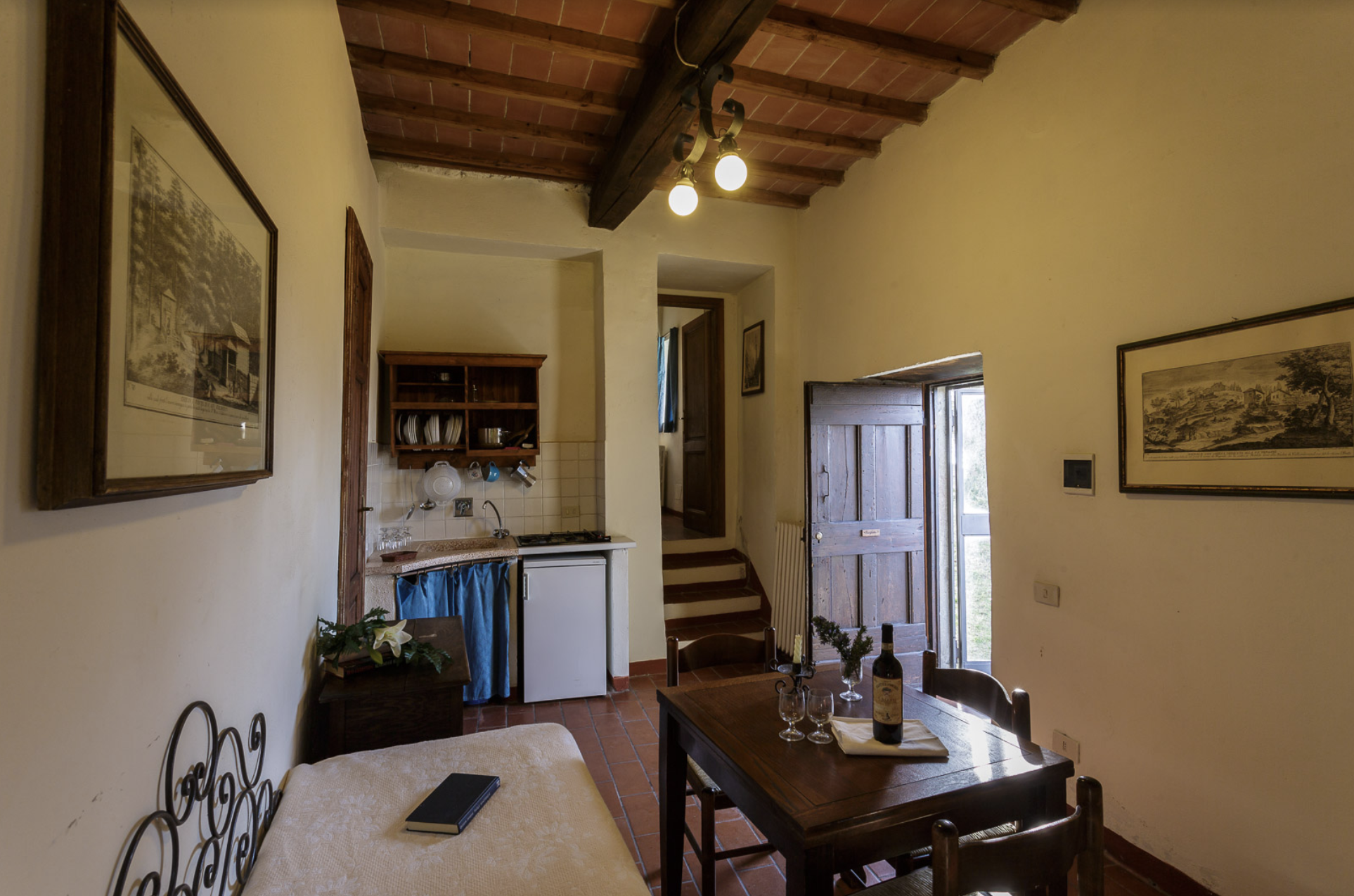 Borghetto 7 (1 bedroom apartment on the ground floor for up to 3 guests)