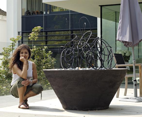 Cathy Azria with Loop Farandole