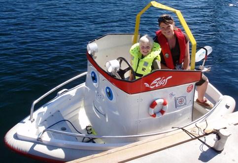 Lise-Janne Hovden er skipper påElias-båten.