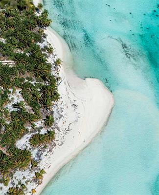 Travel writer Lori Barbely The Brando Tahiti