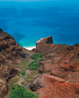 Travel writer Lori Barbely Kauai, Hawaii
