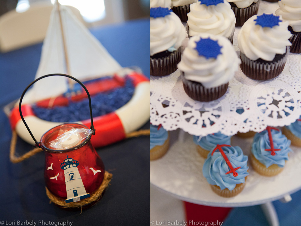 Nautical theme child's party