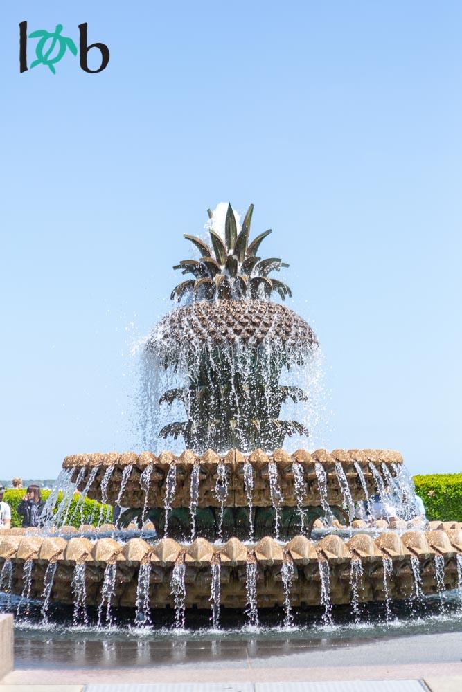 Pineapple Fountain, Charleston, South Carolina