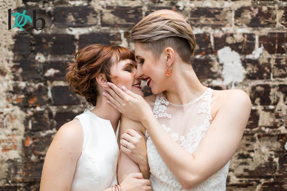 Same-sex Wedding Tampa's Rialto Theatre