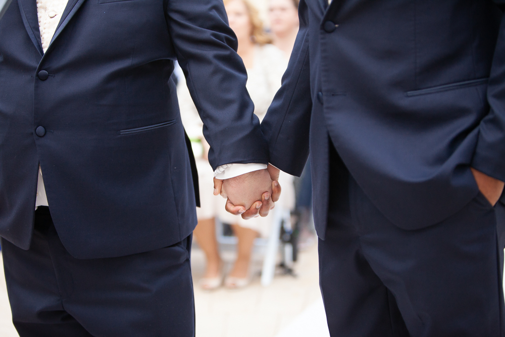 same-sex wedding at Gaylord Palms Orlando