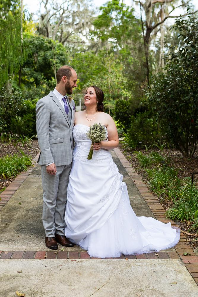 Leu Gardens wedding, Orlando, Florida
